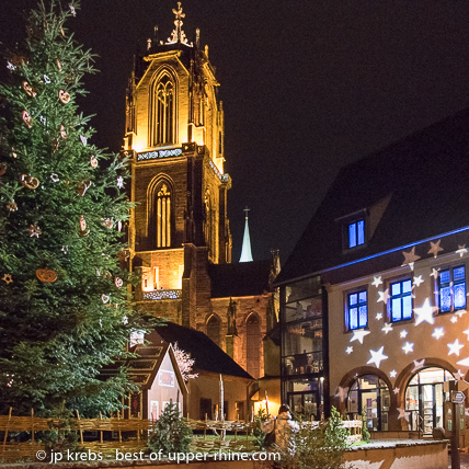 In the archives of the city of Sélestat you will see the oldest written mention of a Christmas fir dating back to 1521